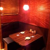【2名席】プライベートに人気のBOX席☆≪心斎橋・食べ飲み放題・個室≫