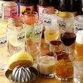 40種以上の飲み放題プランには、カクテルや焼酎など豊富に取り揃えております☆またソフトドリンクも充実しておりますので、お酒にあまり強くないお客様や未成年のお客様にも、楽しんでいただけるラインナップとなっております♪プレミアム飲み放題にも変更可能です!