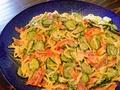 料理メニュー写真スパゲティサラダ