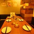 ■少人数宴会■4~6名様向けテーブル席!嬉しいコンセント付き♪