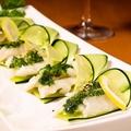 料理メニュー写真白身魚の山椒ねぎ巻き