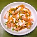 料理メニュー写真ミノサンド(塩・タレ)