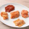 料理メニュー写真ホルモン5種盛りプレート(1種2切れ)