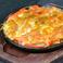明太子とポテトのチーズ焼