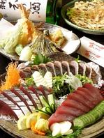 旬の魚を贅沢に…