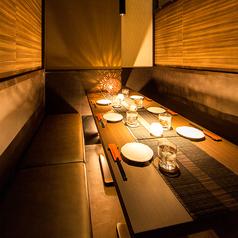 最大110名様での貸切宴会も承っております。個室は幅広く対応可能です。