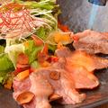 料理メニュー写真和牛炙りカルパッチョ