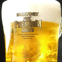 ごめんなさい!こだわりの生ビールは飲み放題出来ません