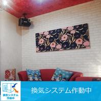 衛生対策バッチリでかわいい個室!
