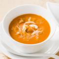 料理メニュー写真謝朋殿名物 うにとフカヒレのスープ