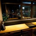ご家族連れでも安心なソファータイプのテーブル席もご用意!こちらは4名様席となります。