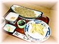 料理メニュー写真にしんの天ぷらそば
