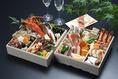 日和庵の美食のおせち。ワインにも日本酒にもあう美食のおせちです。