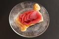料理メニュー写真Ainoが焼いたりんごのパイ