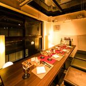 個室席も完備しておりますので周りを気にせずお楽しみいただけます。当店自慢の料理とお酒で至福の時をお過ごしください。