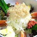 料理メニュー写真のんべサラダ