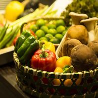 熟練仲買人による厳選された新鮮季節野菜を毎日仕入れ