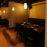 お食事や宴会にもピッタリのテーブル席も多数ご用意!