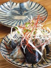 料理メニュー写真揚げ茄子と長ネギの揚げ浸し