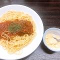料理メニュー写真ミートソーススパゲッティ