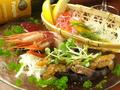 料理メニュー写真【赤字覚悟!】 三種盛りカルパッチョ