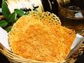 料理メニュー写真カリカリ!!焼きチーズ