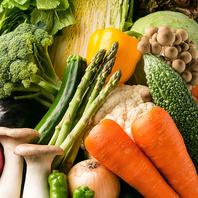 フレッシュな季節野菜を使用!疲労回復や美肌効果抜群♪