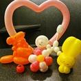 【サプライズ】手品家岡山店には凄腕バルーンパフォーマーも在籍♪作ったバルーンで店内を装飾したり、作ってプレゼントもしていますよ☆