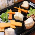 料理メニュー写真チーズの盛り合わせ2種類~4種類