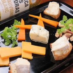 チーズの盛り合わせ2種類~4種類