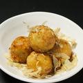 料理メニュー写真カリカリ揚げたこ焼(5個)
