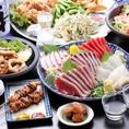 串焼きや海鮮等、人気の居酒屋メニュー充実☆
