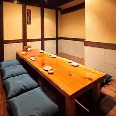 大小さまざまな個室のご用意ございます。
