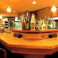 料理人の技を楽しめる♪カウンター席でまったり食事も◎