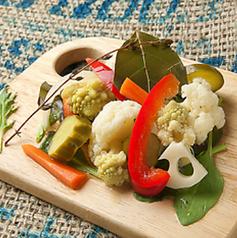 料理メニュー写真お野菜たちのピクルス