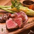 料理メニュー写真黒毛和牛門崎熟成肉のグリル