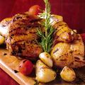 料理メニュー写真ローストチキンのローズマリー