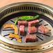 特製鉄板網でお肉の旨みを焼き上げる。