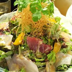 鮮魚たっぷり海撰サラダ