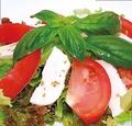 料理メニュー写真トマトとモッツァレラのカプレーゼサラダ