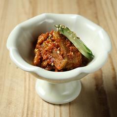 肉チャンジャ/砂肝ペッパー