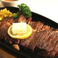 料理メニュー写真300gステーキ