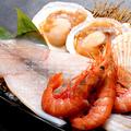 料理メニュー写真海鮮焼き盛合せ