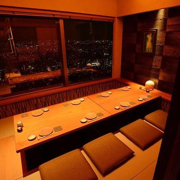 蕎麦と魚 銀平 ぎんぺい 恵比寿ガーデンプレイス店の雰囲気1