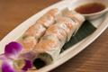 料理メニュー写真インドネシア産 プリプリ海老の生春巻き