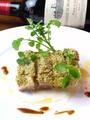 料理メニュー写真長崎赤鶏のハーブパン粉焼き(100g)