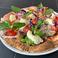Caprese pizza‐Buffalo mozzarella, Prosciutto & Freshtomato