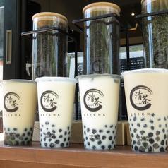 タピオカ 台湾茶 清茶の写真