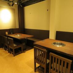 3Fのテーブル席