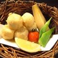 料理メニュー写真里芋のホコホコ揚げ